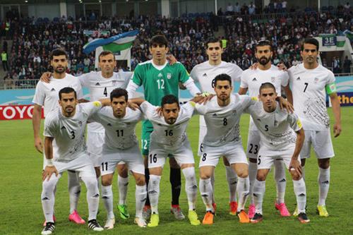 حذف ایران از جام جهانی,عکس تیم ملی ایران