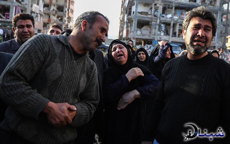 عکس های دلخراش زلزله کرمانشاه,تصاویر تکان دهنده زلزله