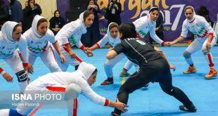 عکس های مسابقات کبدی بانوان ایران,کبدی زنان
