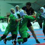 عکس های مسابقات کبدی بانوان ایران