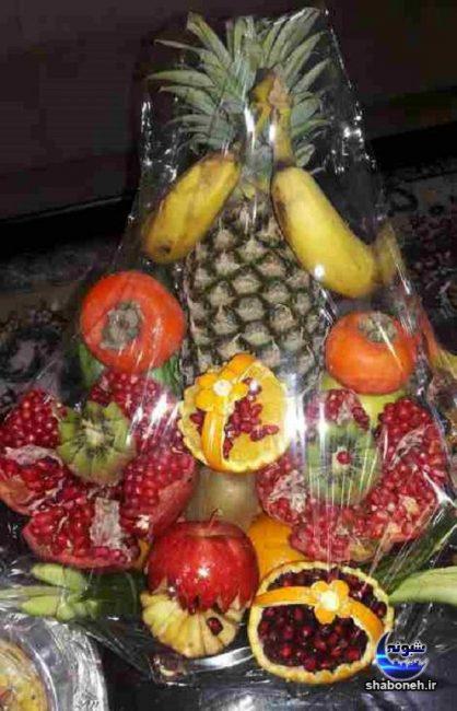 مدل های میوه آرایی شب یلدا,تزئین سفره شب چله