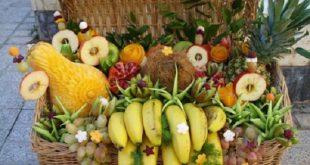 مدل های میوه آرایی شب یلدا و تزئین سفره شب چله