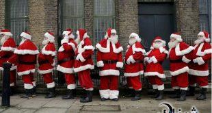 عکس های بابانوئل های مدرن و دوره دیده