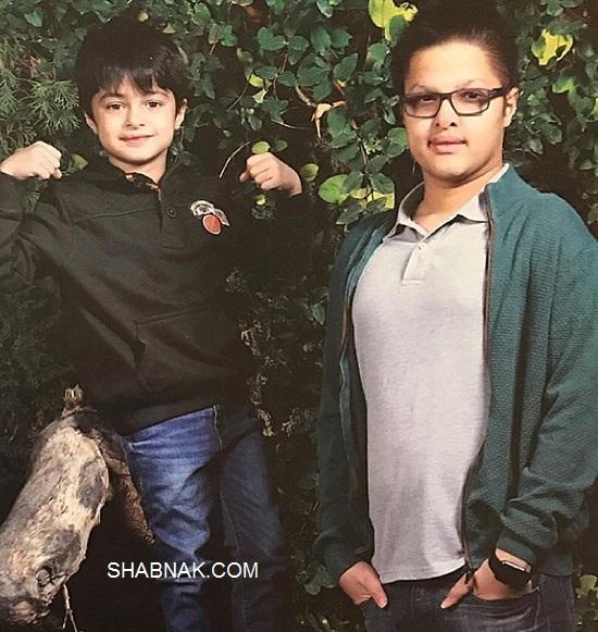 فرزندان شهاب حسینی,پسران شهاب حسینی