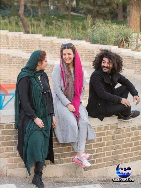 عکس جدید روژان آریامنش و کاوه آهنگر