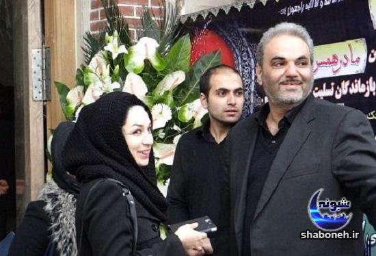 بیوگرافی جواد خیابانی و همسرش بهناز خیابانی