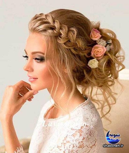 تاج گل عروس در مدل های جدید و شیک