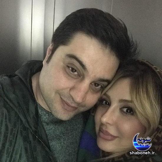 عکس های نیوشا ضیغمی و همسرش