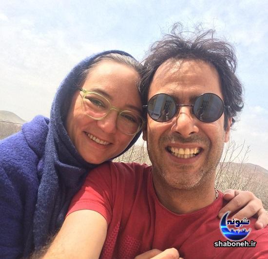 سحر ولدبیگی در عکسی عاشقانه با همسرش