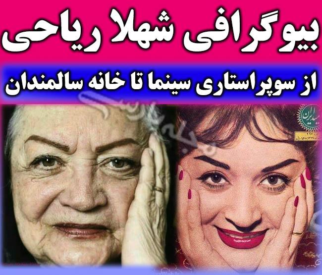 بیوگرافی و درگذشت شهلا ریاحی و همسر و فرزندانش + عکس های جوانی شهلا رياحي