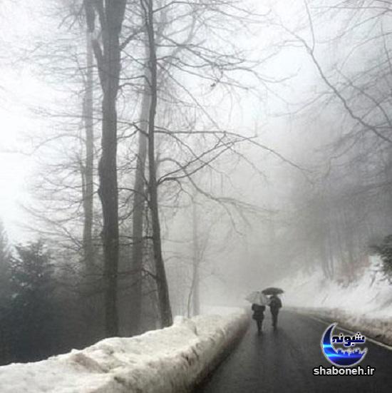 عکس نوشته درباره زمستان,تصاویر عاشقانه زمستانی