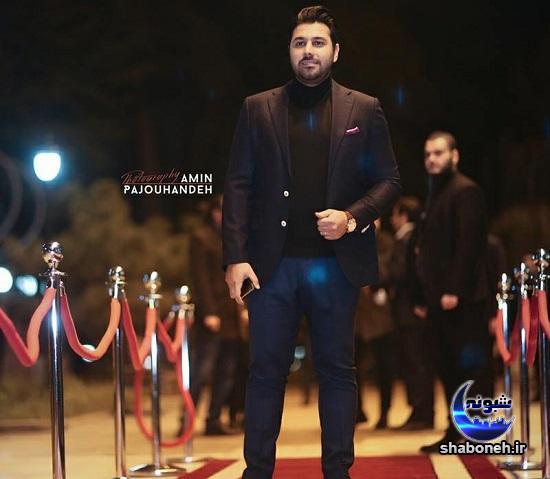 احسان خواجه و همسرش در جشن موسیقی