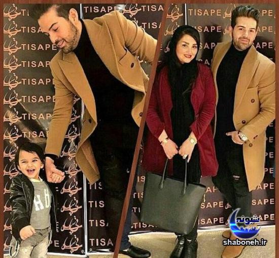 عکسهای خصوصی عماد طالب زاده و همسرش