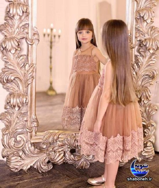 خوشگل ترین دختر جهان با چشمان جذاب