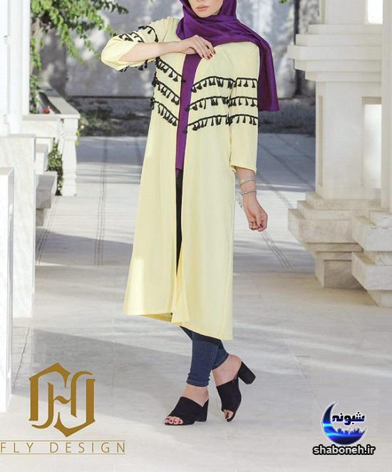 مدل جدید مانتو مخصوص عید سال 97