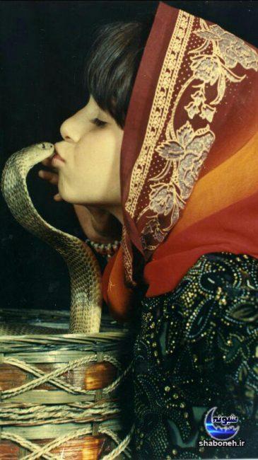 بیوگرافی فائزه غلامی و ماجرای بوسیدن مار