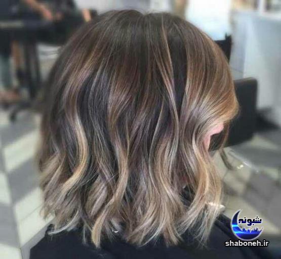 انواع رنگ مو آمبره و سامبره مو و بالیاژ مو