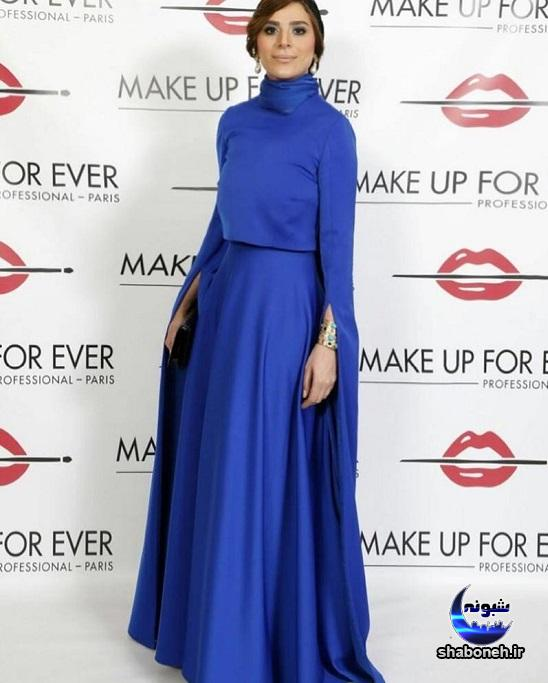 مدل لباس سحر دولتشاهی در دوبی