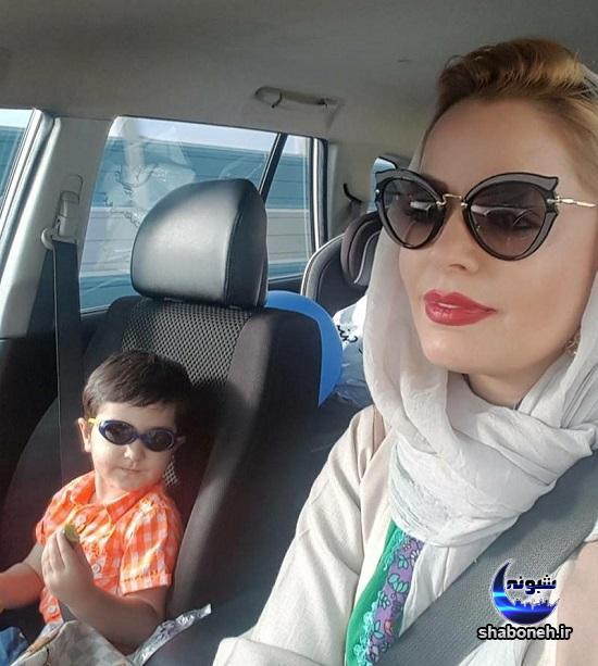 بیوگرافی سپیده خداوردی و پسرش سانیار