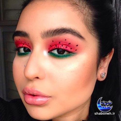 آرایش چشم شب یلدا + مدل جدید آرایش یلدایی