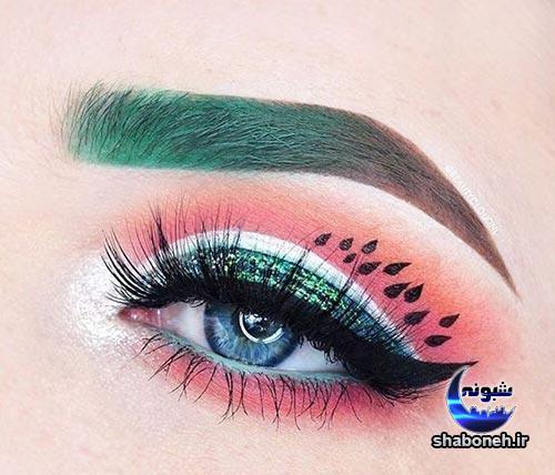 آرایش چشم مخصوص شب یلدا