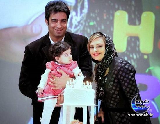 عکس های یکتا ناصر با همسرش منوچهر هادی