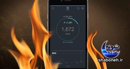چرا گوشی هوشمند داغ می کند