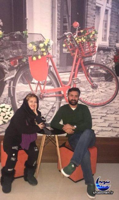 عکس های خصوصی بهاره رهنما و همسرش