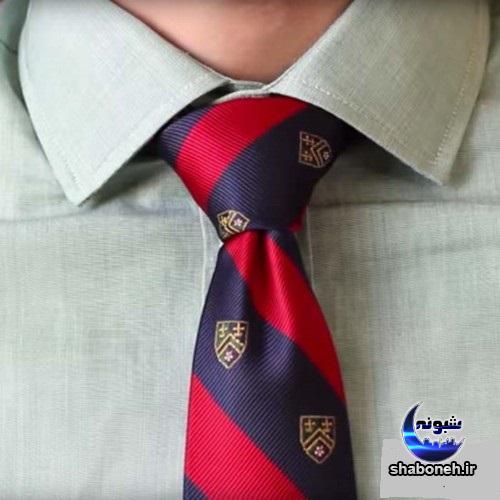 آموزش بستن کراوات و پاپیون بصورت گام به گام