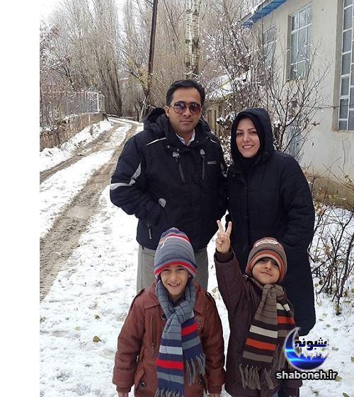 بیوگرافی المیرا شریفی مقدم و همسرش
