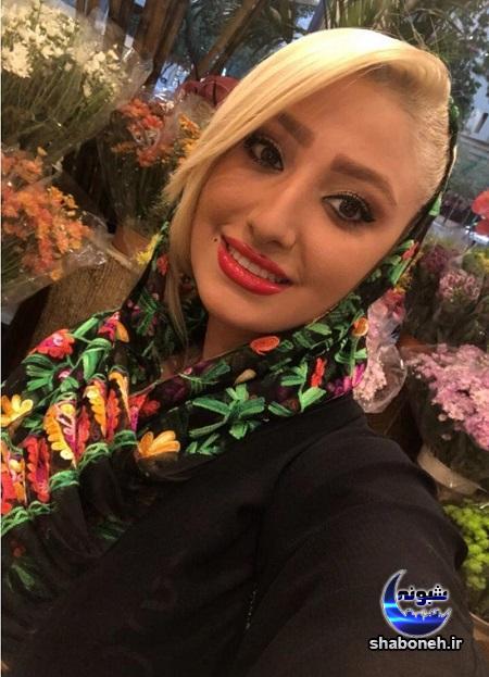 مهسا کاشف بازیگر سریال آنام با تیپ متفاوت