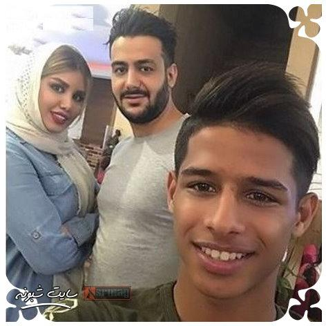 بیوگرافی مهدی قائدی فوتبالیست و خواهرش + تصاویر خواهر مهدي قائدي