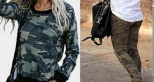 مدل شلوار ارتشی دخترانه و لباس زنانه ارتشی