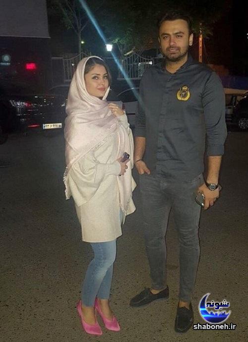 مائده محمدی زیباترین مدلینگ ایرانی و همسرش