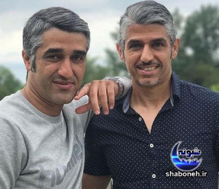 پژمان جمشیدی و برادرش هومن