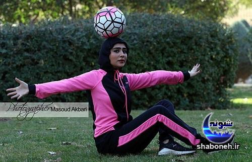 ستاره حسینی با تیپ ورزشی و متفاوت
