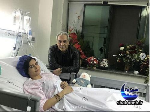 الناز شاکردوست در بیمارستان و روند درمانی
