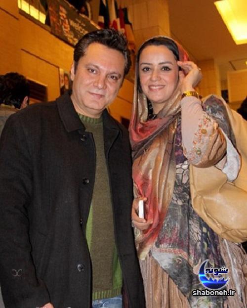عکس جنجالی الهام چرخنده و همسر اول و دومش