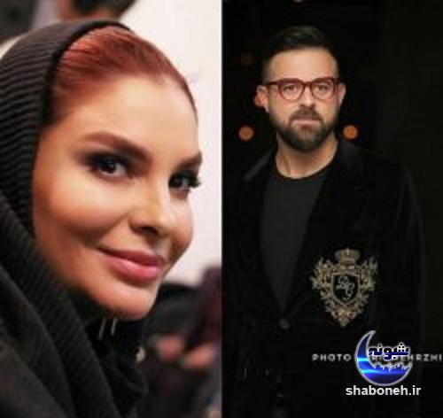 عکس هومن سیدی و همسر دومش در جشنواره فجر