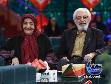 بیوگرافی جمشید مشایخی و همسرش