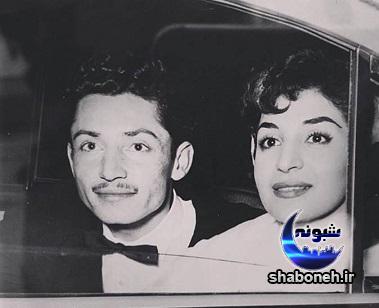 بیوگرافی جمشید مشایخی و همسرش گیتی افروز رئوفی عکس جوانی