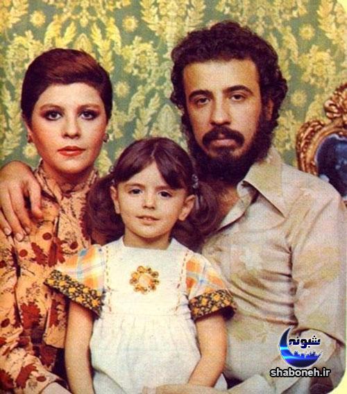 عکس علی حاتمی و زری خوشکام پدر و مادر لیلا حاتمی
