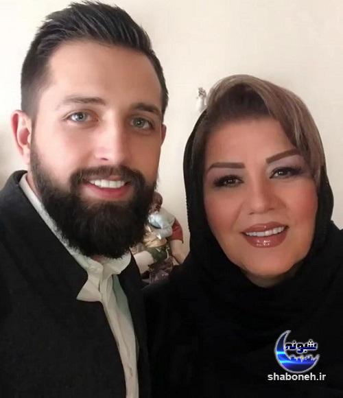 بیوگرافی محسن افشانی و مادر همسرش (مادرزنش)