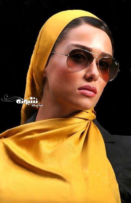 عکس بی حجاب پریناز ایزدیار بازیگر عکس بدون حجاب