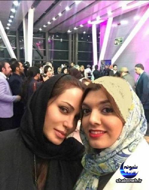 تصاویر رامانا سیاحی ,ظاهر متفاوت رامانا سیاحی در اکران فیلم ایرانی