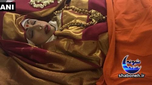 مراسم سوزاندن سری دیوی