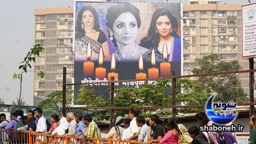 مراسم تشییع و سوزاندن سری دیوی