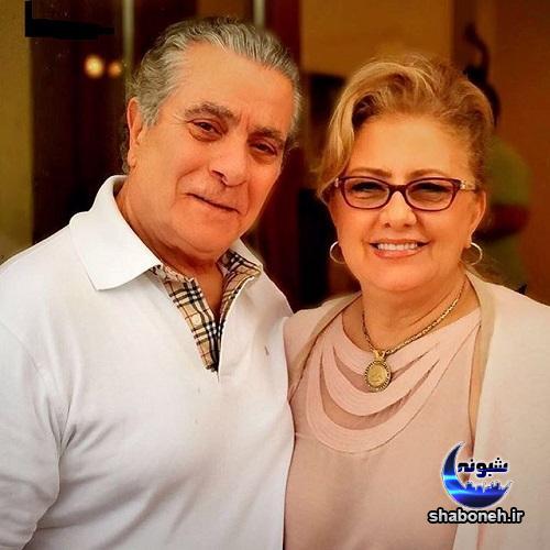 عکس بهروز وثوقی و همسر دومش کتایون امجدی