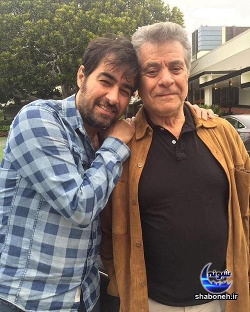 عکس بهروز وثوقی و شهاب حسینی