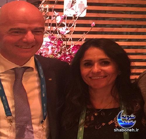 بیوگرافی جانی اینفانتینو رئیس فیفا و همسر لبنانیش